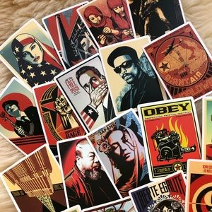 New Lot Stickers Decal Obey fairy Shepard Adhesive